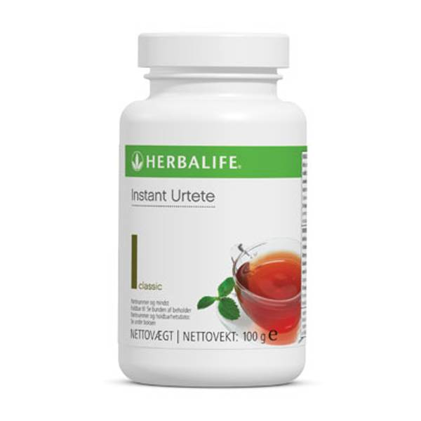 Urtete - Herbalife, Stor 100g boks
