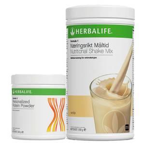 Bilde av Shake Mix med Herbalife F1+F3